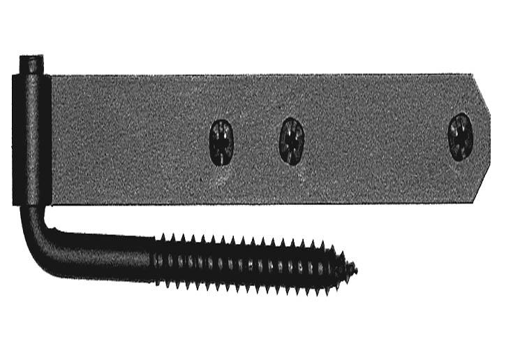 ct style shutter hinge set