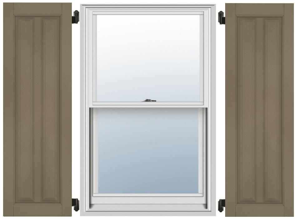 Fiberglass Shutters - Double Panel