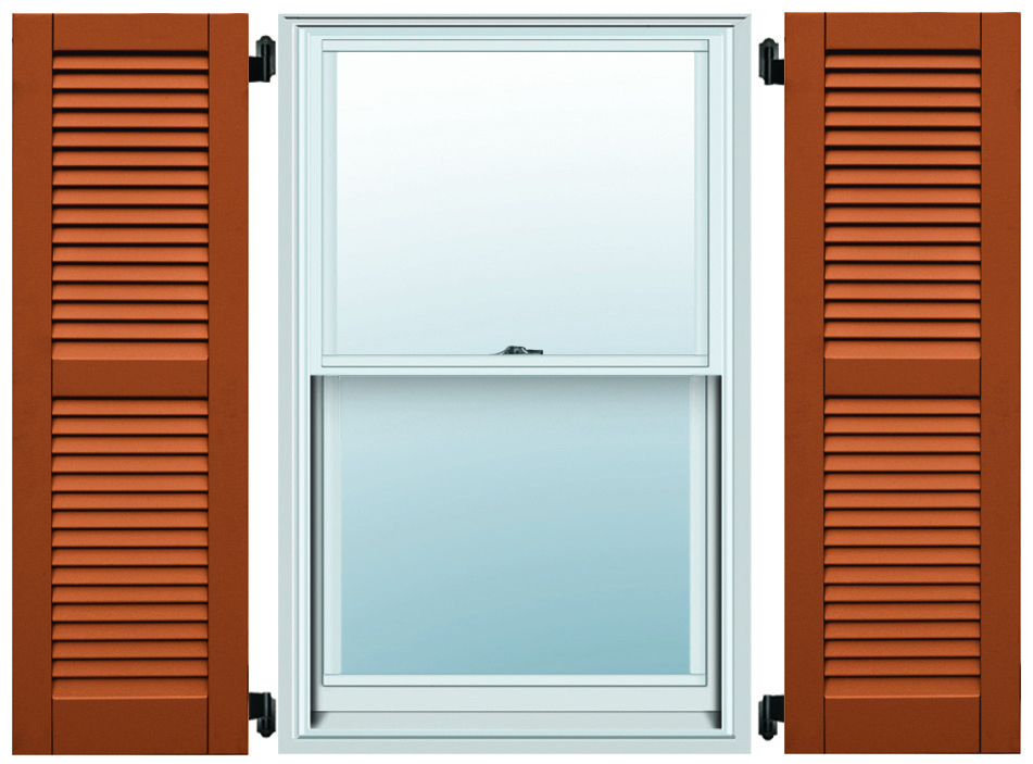 composite shutters- even louver
