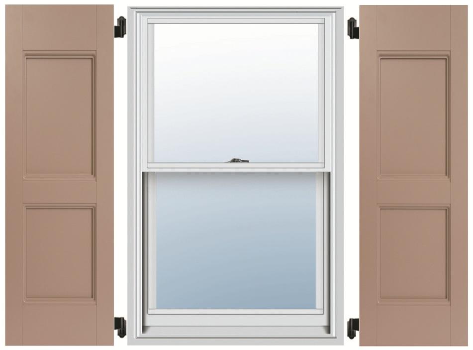 PVC Composite Shutters - Flat Panel
