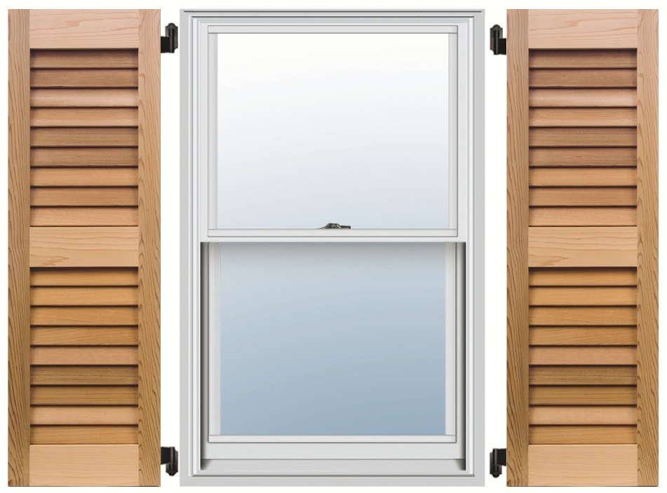 Exterior shutters composite wood pvc aluminum - Exterior wooden shutters for windows ...
