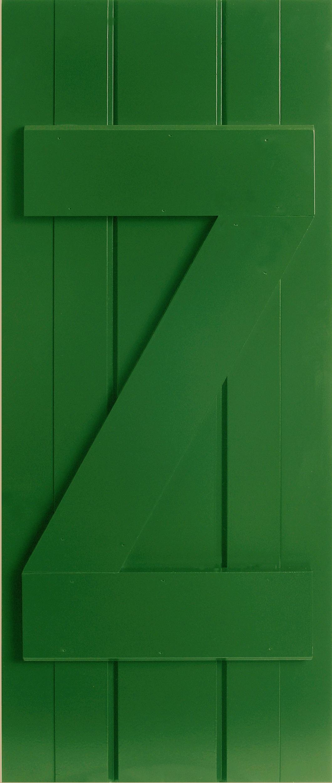 PVC Composite Shutters - Z Batten