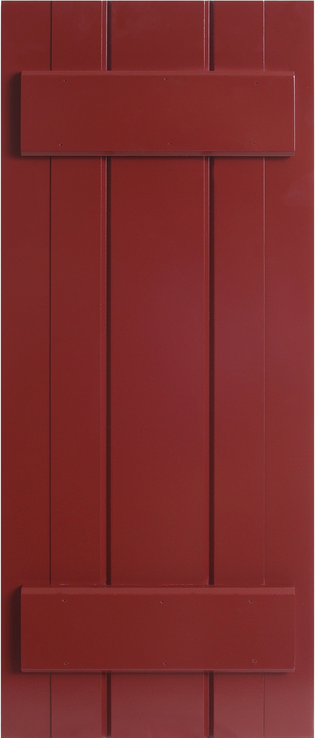 Pvc composite shutters from custom shutter company - Composite board and batten exterior shutters ...