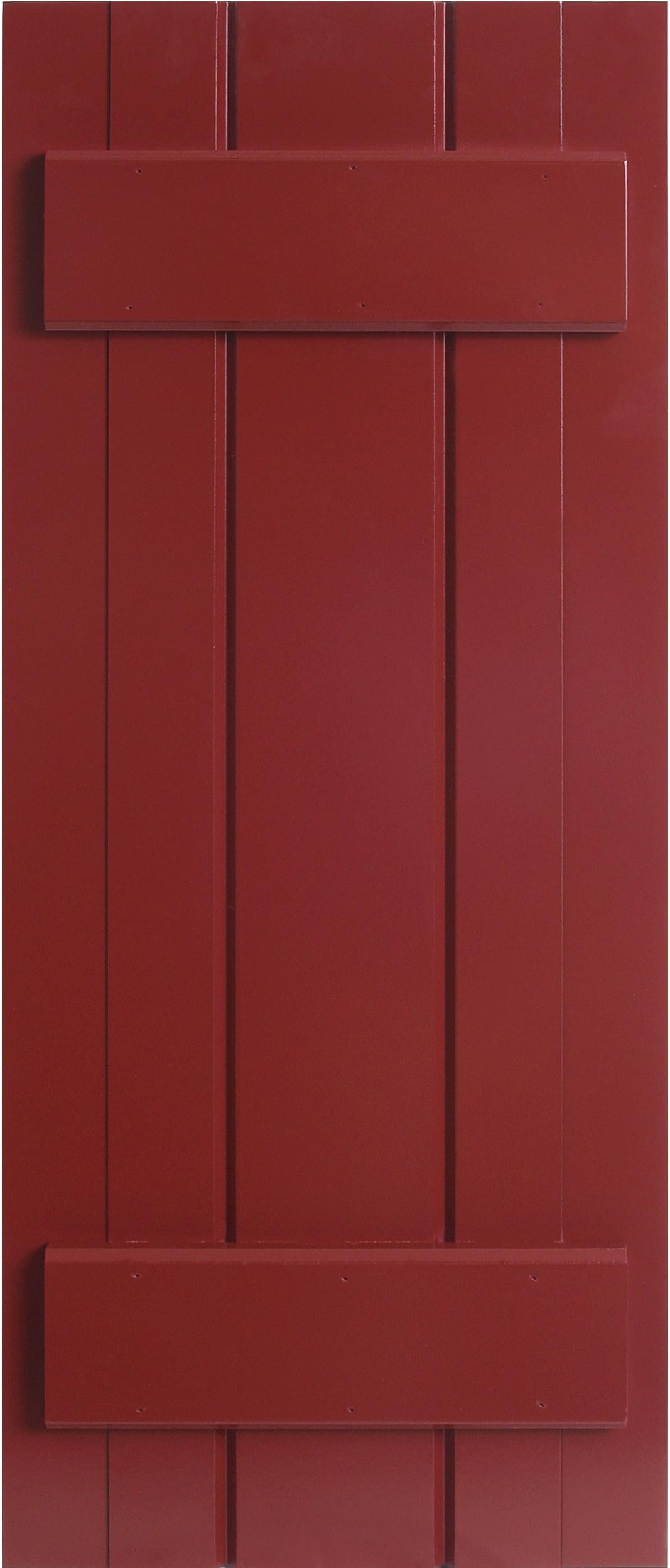 PVC Composite Shutters - Batten Style