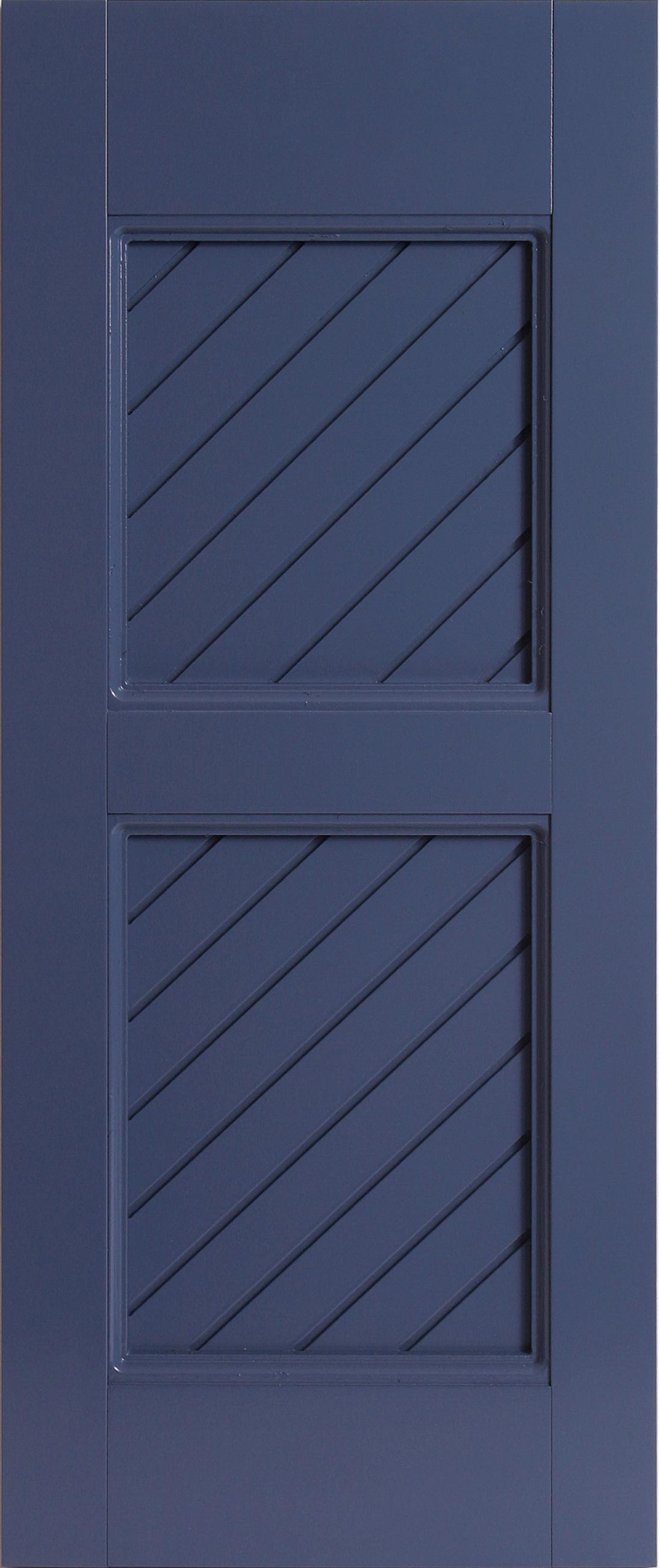 PVC Composite Shutters - Diagonal Groove