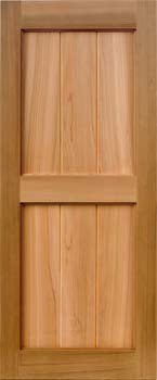 Red Cedar Shutters from Custom Shutter Company