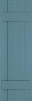 Composite Shutters - Batten Style