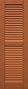 composite shutters - even louver