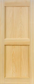 Cypress Shutters - V-Groove Style
