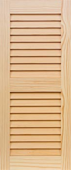 Pine Shutters - Even Louver