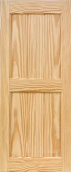 Pine Shutters - V-Groove Style