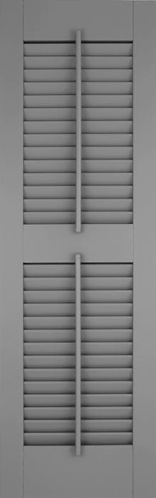 Fiberglass Shutters - Louver w/ Tilt Rod