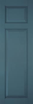 Fiberglass Shutters - Offset Rail Panel