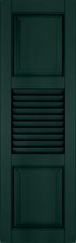 Fiberglass Shutters - Panel-Louver-Panel